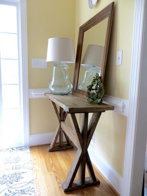This table is built out of only 2x4's - that's 5 boards for about $15! I...