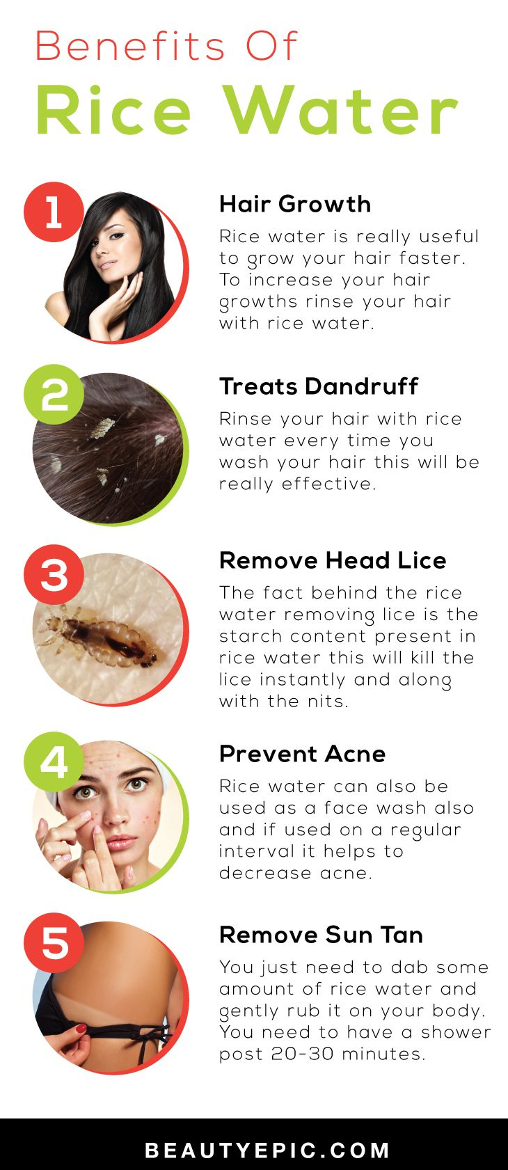 Benefits Of Rice Water for Skin, Hair and Health
