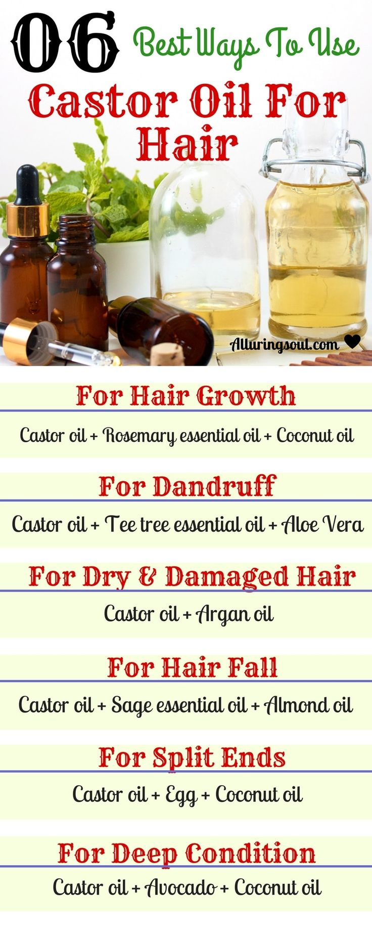 Diy Hair Masks And Face Masks 2018 Castor Oil Is Best For Hair