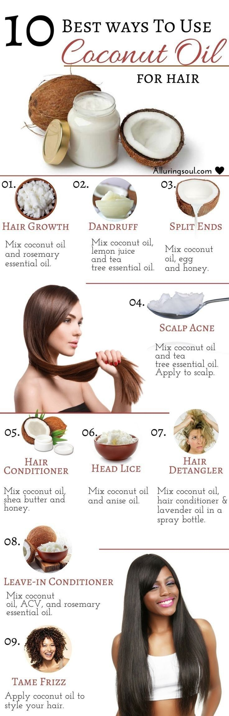 Diy Hair Masks And Face Masks 2018 Coconut Oil For Your