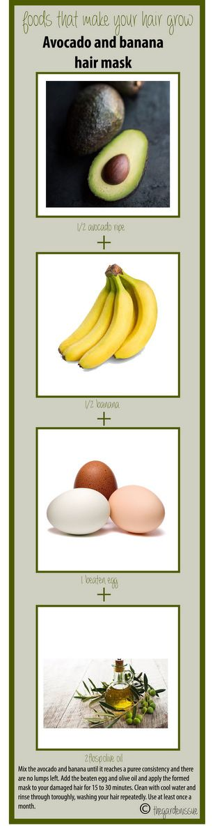 Foods That Make Your Hair Grow – Avocado
