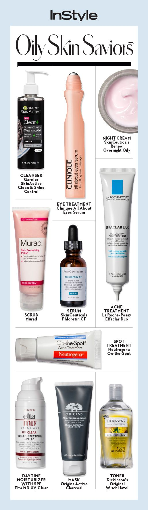 Have oily skin? These are our favorite beauty products on the market to combat t...