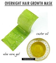 Mix equal quantity of 1tbsp of aloe vera gel and 2 tbsp of castor oil, apply fro...