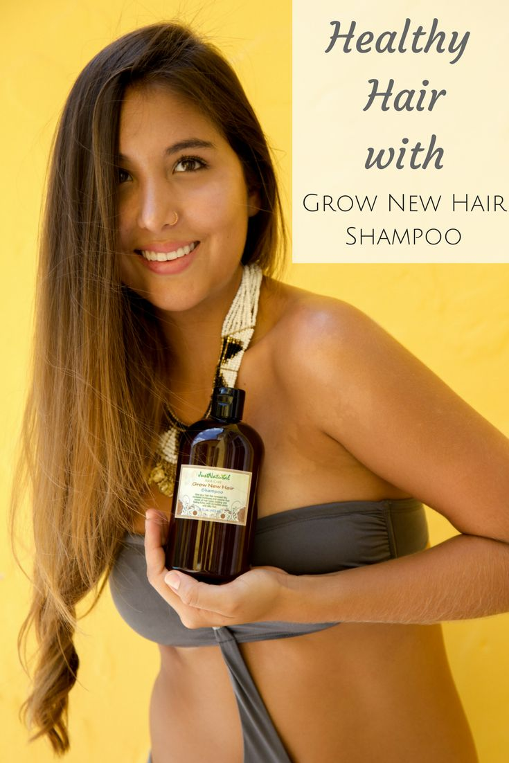 The Grow New Hair shampoo for men and women cleanses both hair and scalp by help...