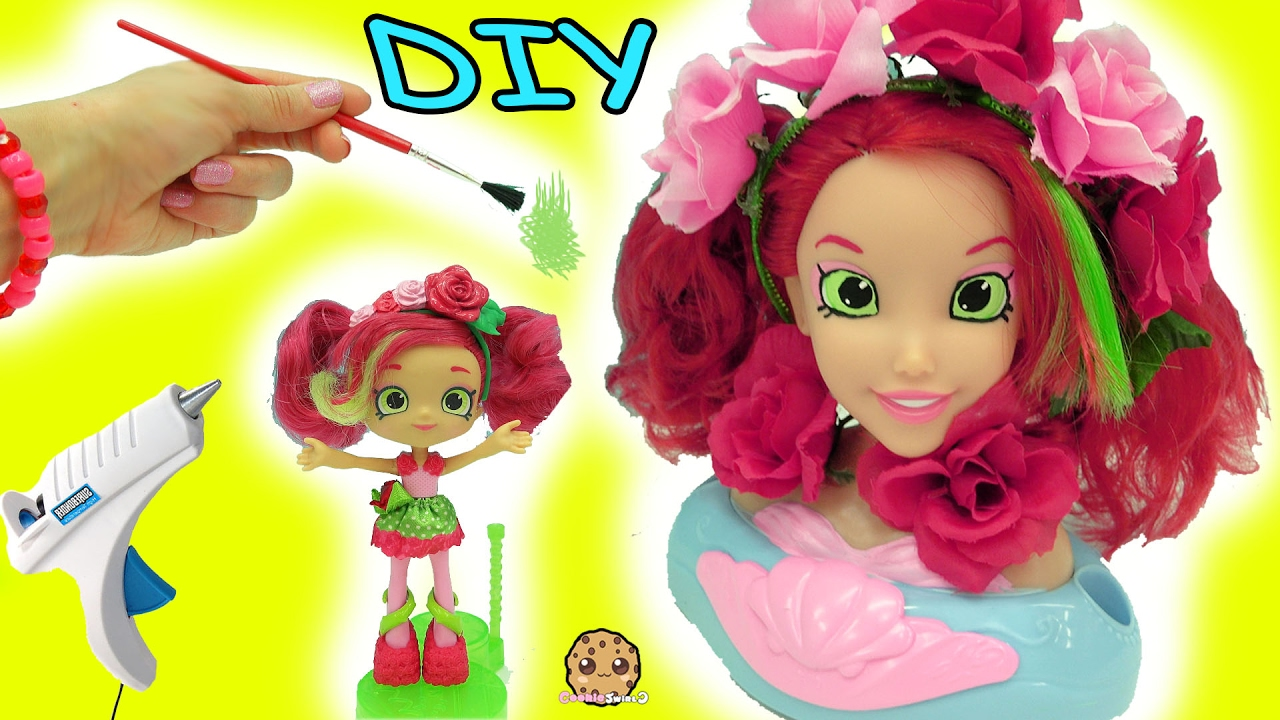 Diy projects video diy do it yourself craft big inspired shopkins diy projects video diy do it yourself craft big inspired shopkins shoppies doll from disney little mermaid style head diyall home of diy craft solutioingenieria Gallery