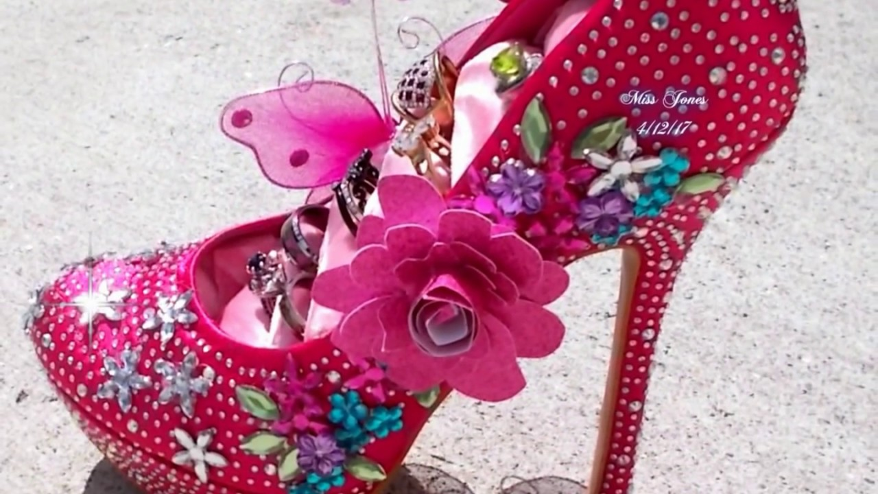 Diy projects video stiletto shoe ring jewelry organizer do it diy projects video stiletto shoe ring jewelry organizer do it yourself diy fun ideas for gifts diyall home of diy craft ideas inspiration solutioingenieria Choice Image