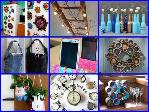 Diy Projects Video Top 50 Best Diy Recycled Crafts Ideas