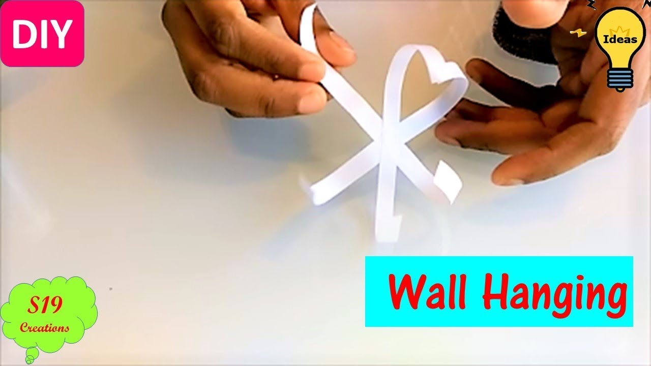 Diy Projects Video Wall Decorating Ideas With Paper Easy Paper
