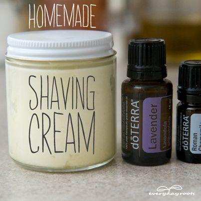 ❤ How to Make Chemical-Free Shaving Cream ❤