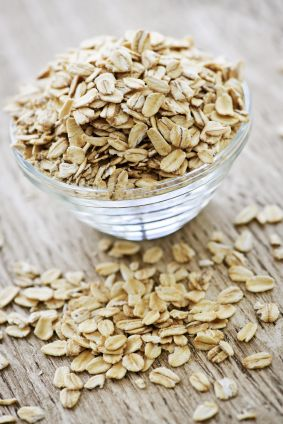 1 cup of organic oatmeal, whirred in a blender until flour-like texture (don&#39...