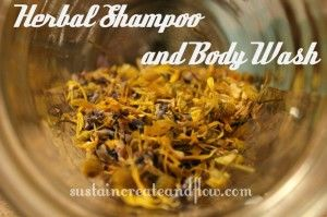 Amazing Herbal Shampoo and Body Wash. A herbal shampoo recipe certainly helps re...