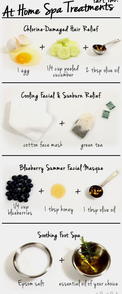 Diy Skin Care Tips At Home Spa Treatments For Summer