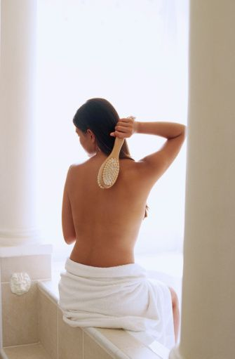 Body brushing is great for your skin and for your lymphatic system...