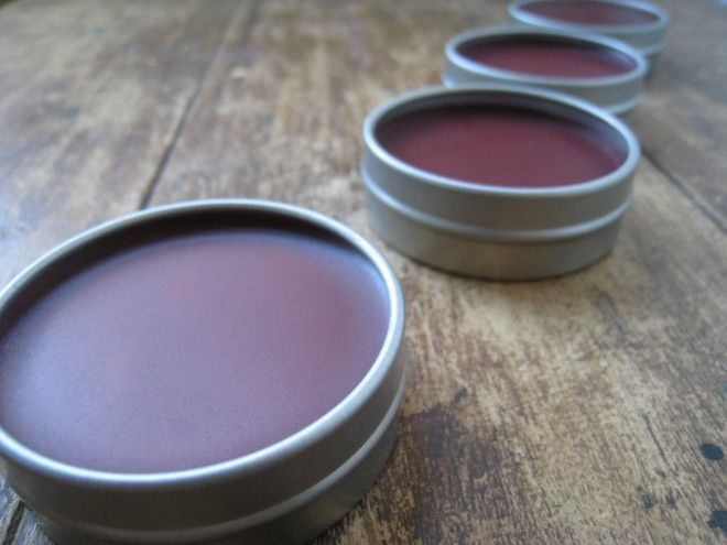 DIY Naturally Tinted Lip Balm ~ The Recipe: Ingredients -1 ounce coconut oil (2 ...