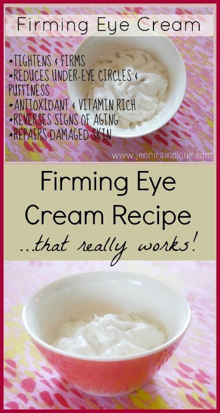 Firming Eye Cream Recipe - www.PrimallyInspi...
