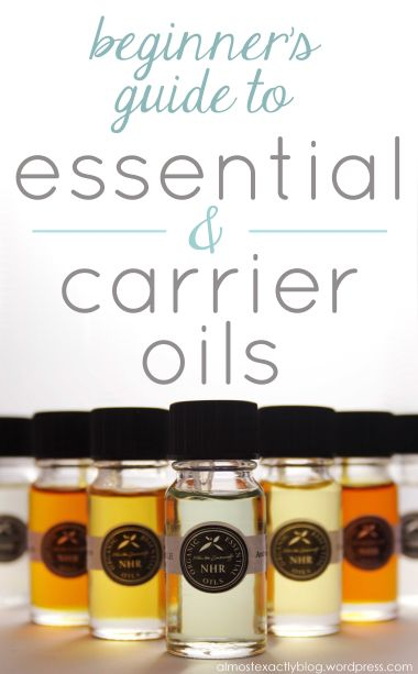 Great starter guide for essential oils and carrier oils.