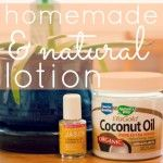 Handmade & Natural Coconut Oil Lotion Love this! I gotta try it! I make a coocnu...