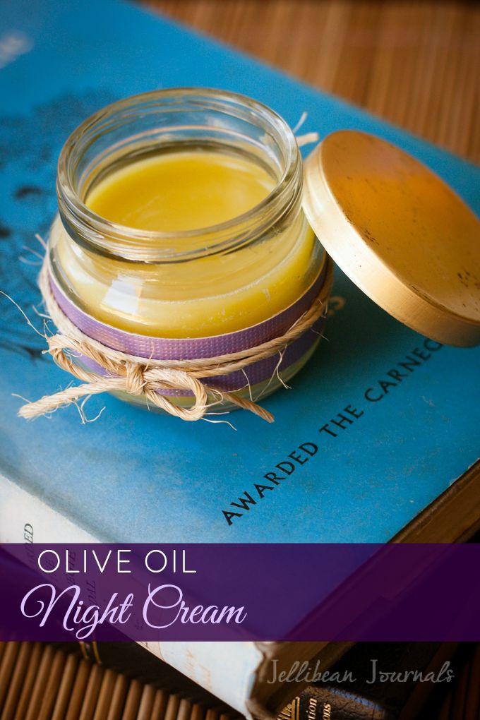 Homemade Olive Oil Night Cream