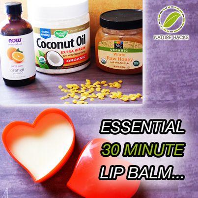 How To Make 30 Minute Lip Balm