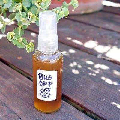 How To Make A Homemade Natural Non-Toxic Bug Spray -Cheap,Proven & Effective #Ho...