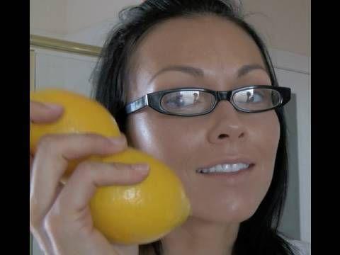 Make Your Own Lemon-Sugar Face Scrub. The lemon helps acne, sun spots, discolora...