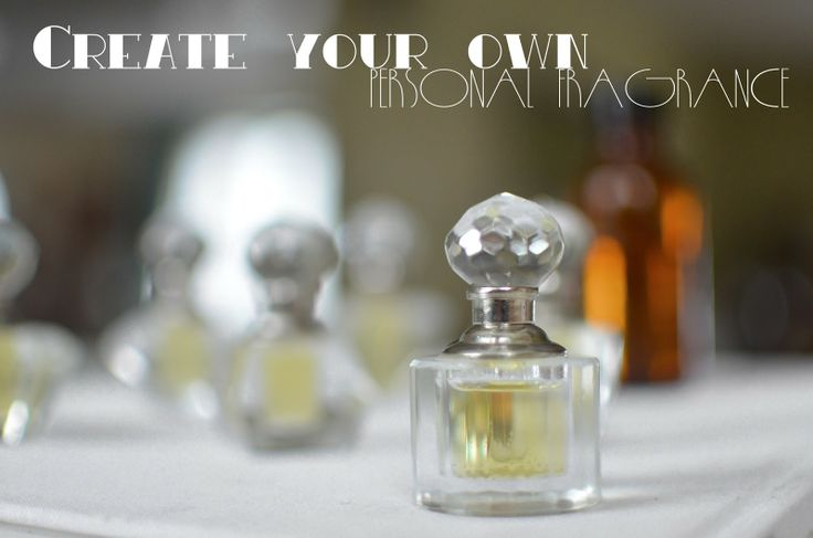 Make your own perfume that DOESN'T GIVE YOU A HEADACHE!