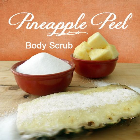 Pineapple Peel Body Scrub