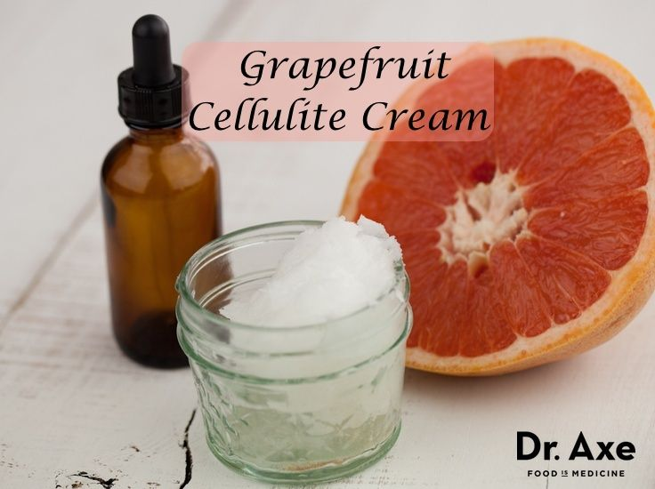 This grapefruit cellulite cream recipe will help hydrate the skin while grapefru...