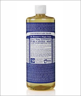 This is a must-have staple in our house!  Dr. Bronner's liquid soap can be u...