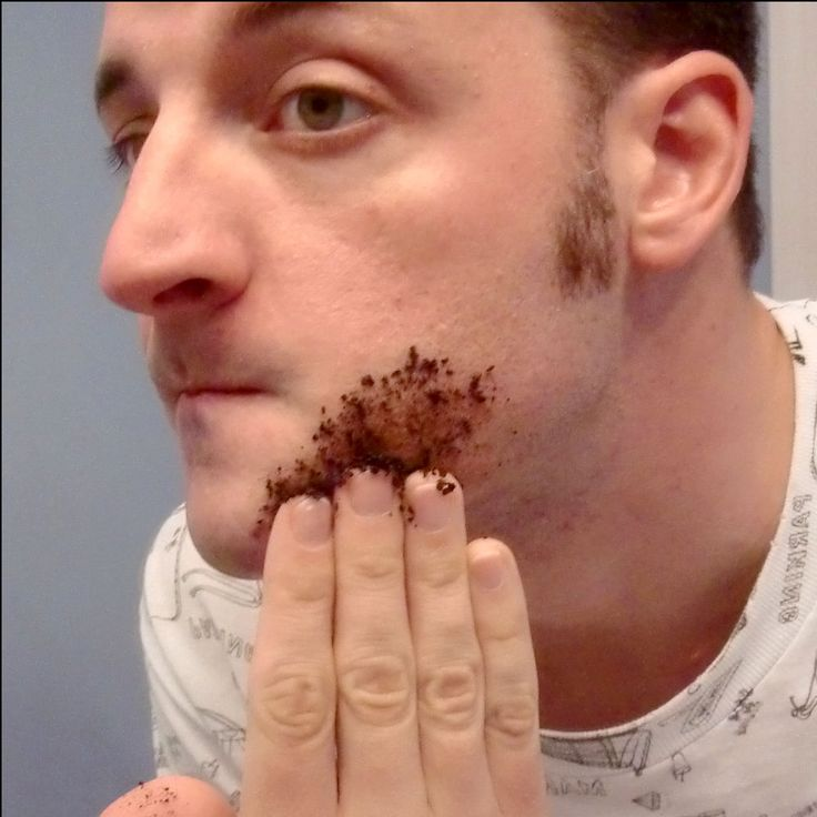 get rid of unwanted hair ANYWHERE! For 1 week, rub 2 tbsp coffee grounds mixed w...