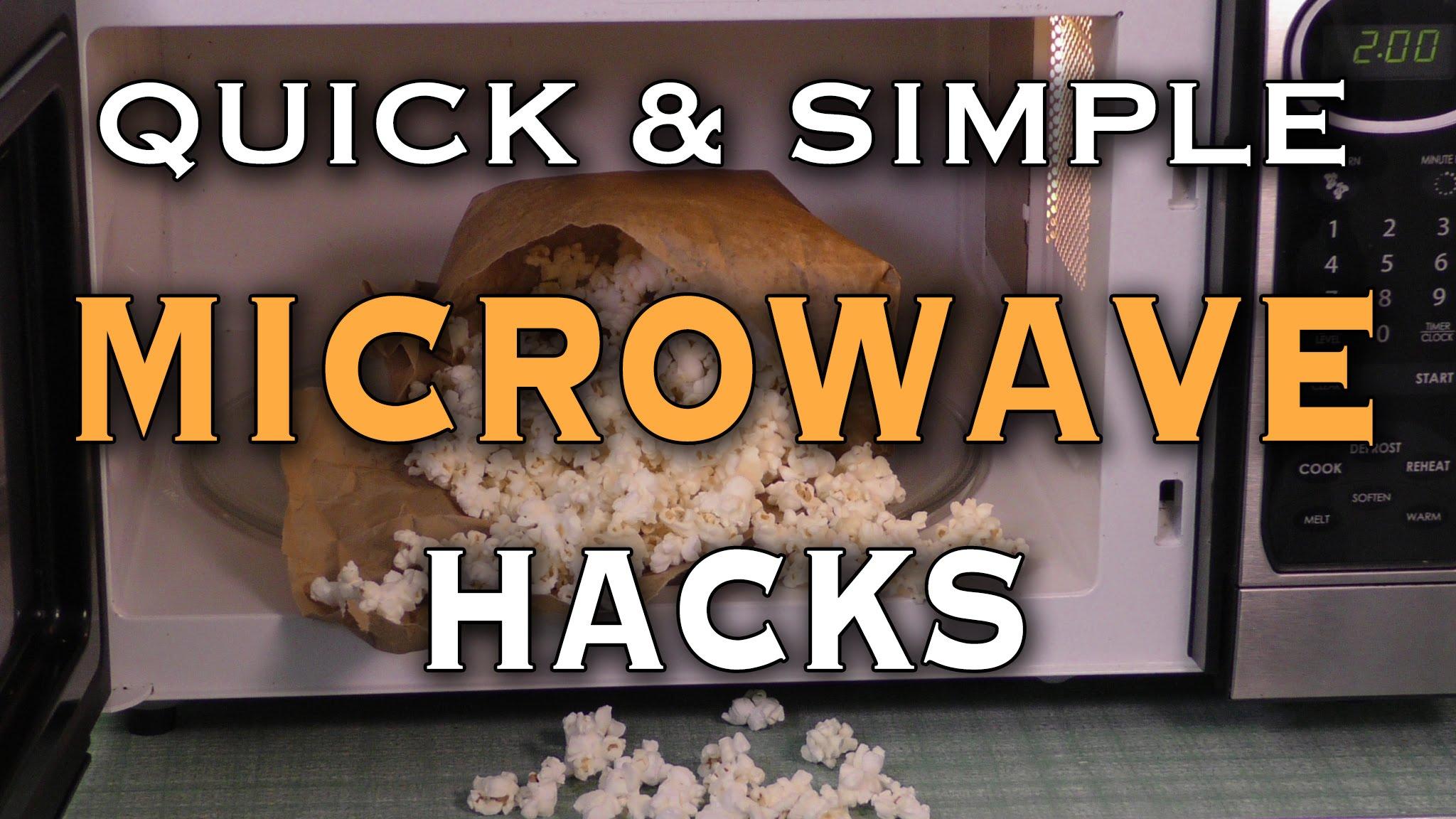 Life Hacks Ideas: 10 Microwave Life Hacks - DIYall net