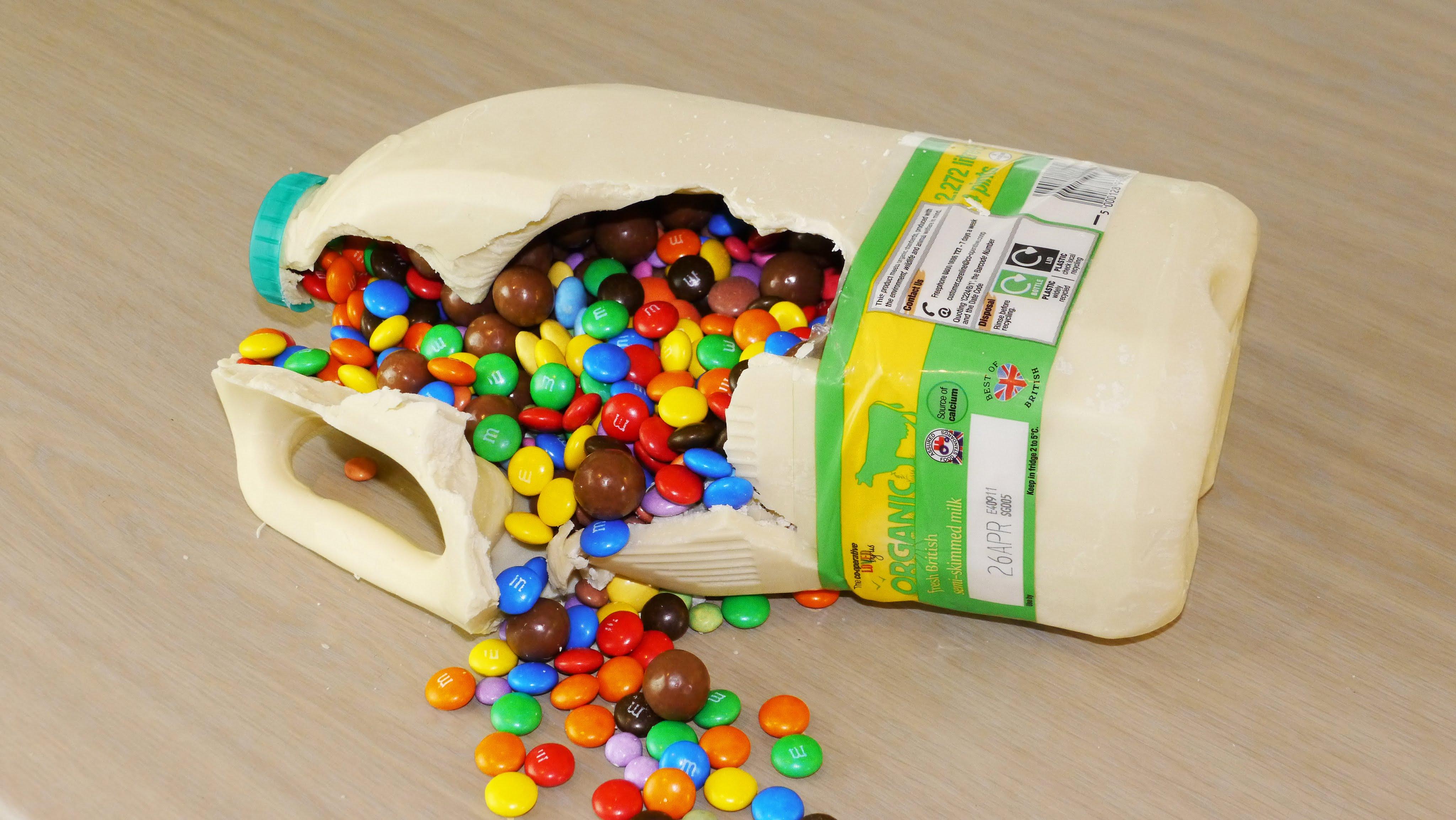 Life Hacks Ideas Chocolate Milk Bottle Surprise Food Life Hacks