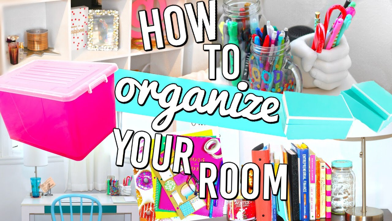 Life Hacks Ideas How To Organize Your Room Organization