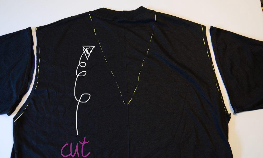 Diy T Shirt Cutting Diys For Stylish New Looks New York