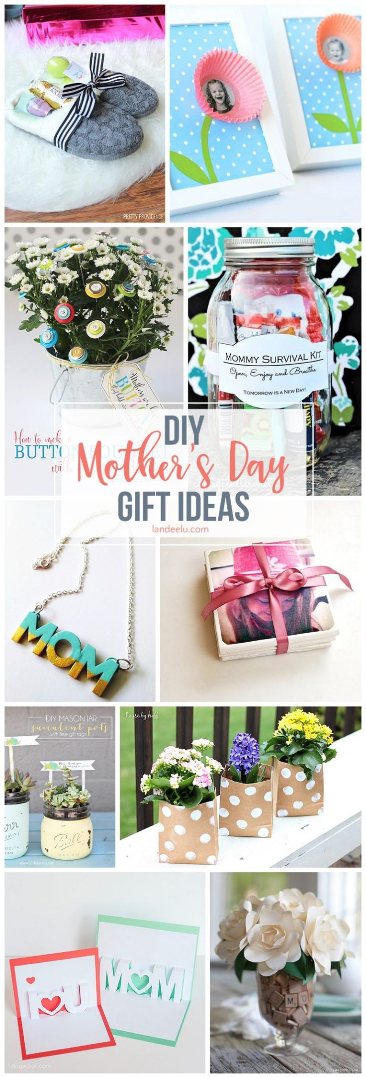 Secure your spot as favorite child and make one of these awesome DIY mothers day...