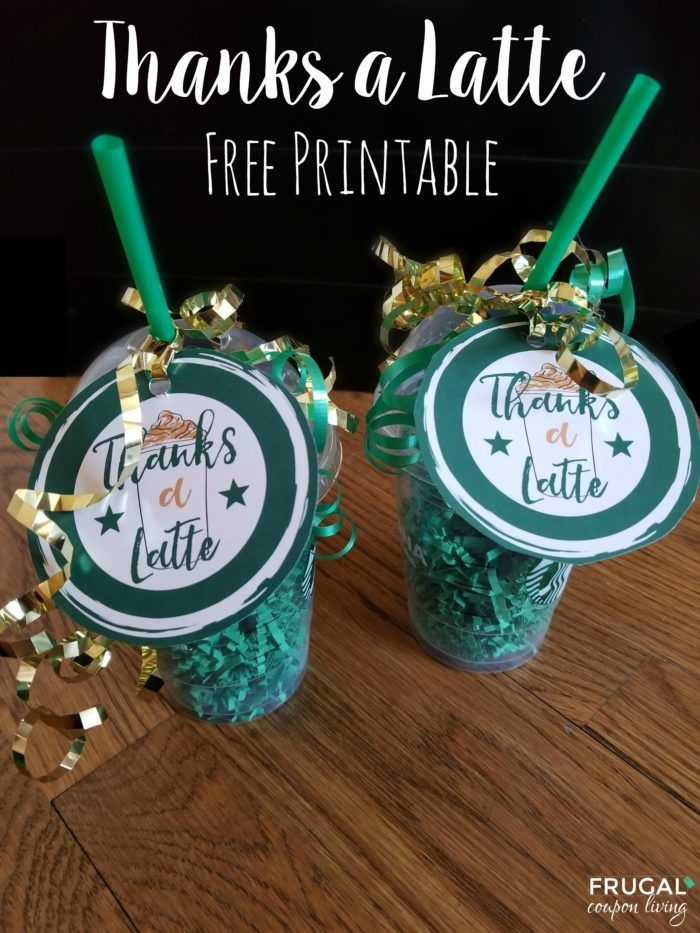 photo relating to Thanks a Latte Printable Tag named Do it yourself Crafts : No cost Because of a Latte Printable. This can make an