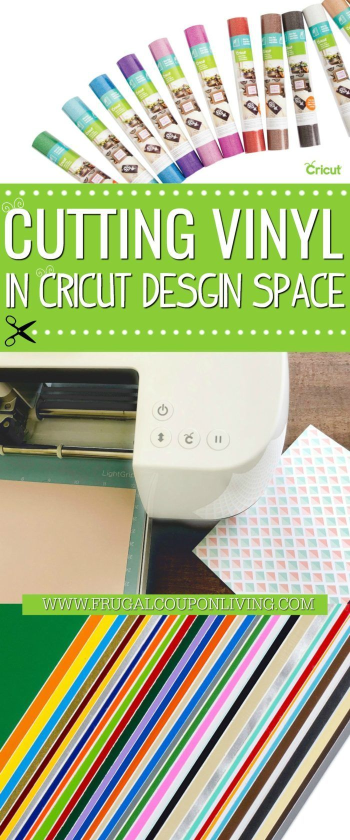 How To Cut Vinyl on your Cricut machine with complete confidence! Cut vinyl in t...
