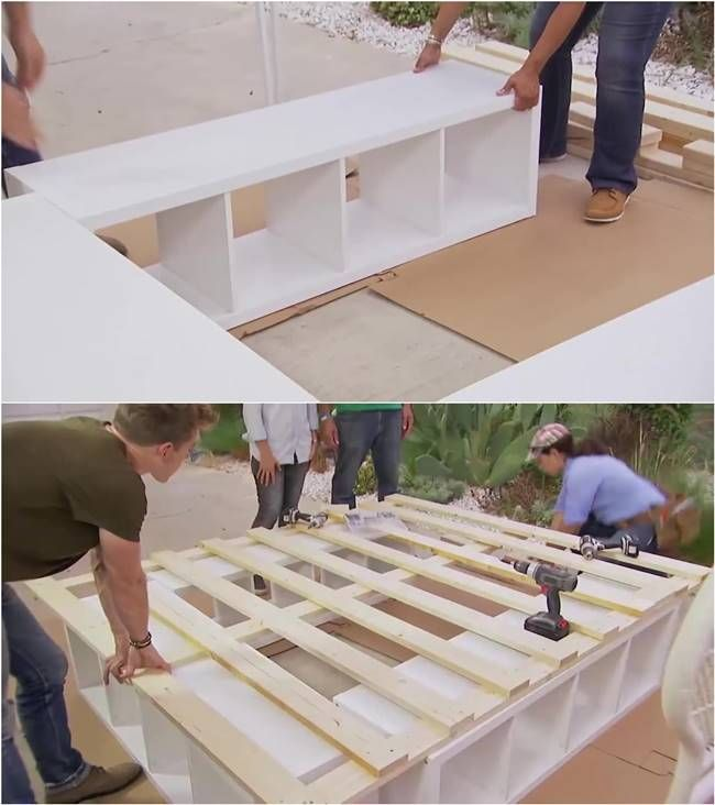 Best Diy Life Hacks Crafts Ideas How To Build A Platform Bed