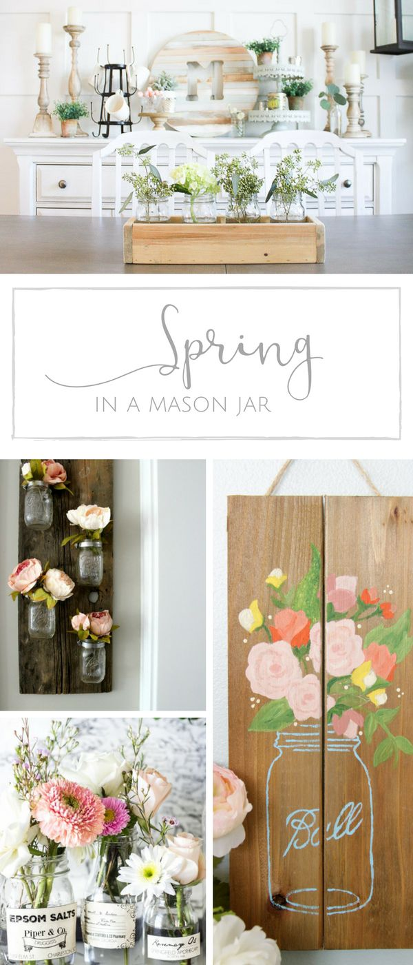 Diy Crafts 10 Simple Spring Mason Jar Ideas To Welcome Spring In