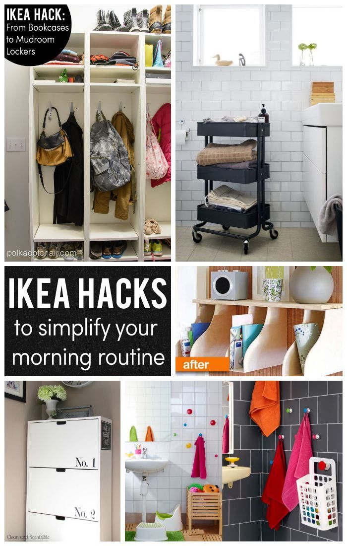 15 IKEA Hacks to help Simplify your Morning!