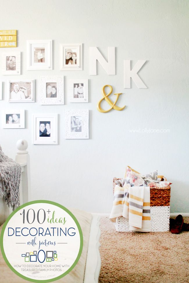 DIY Crafts : Annual Couple Gallery Wall , an idea to decorate your ...