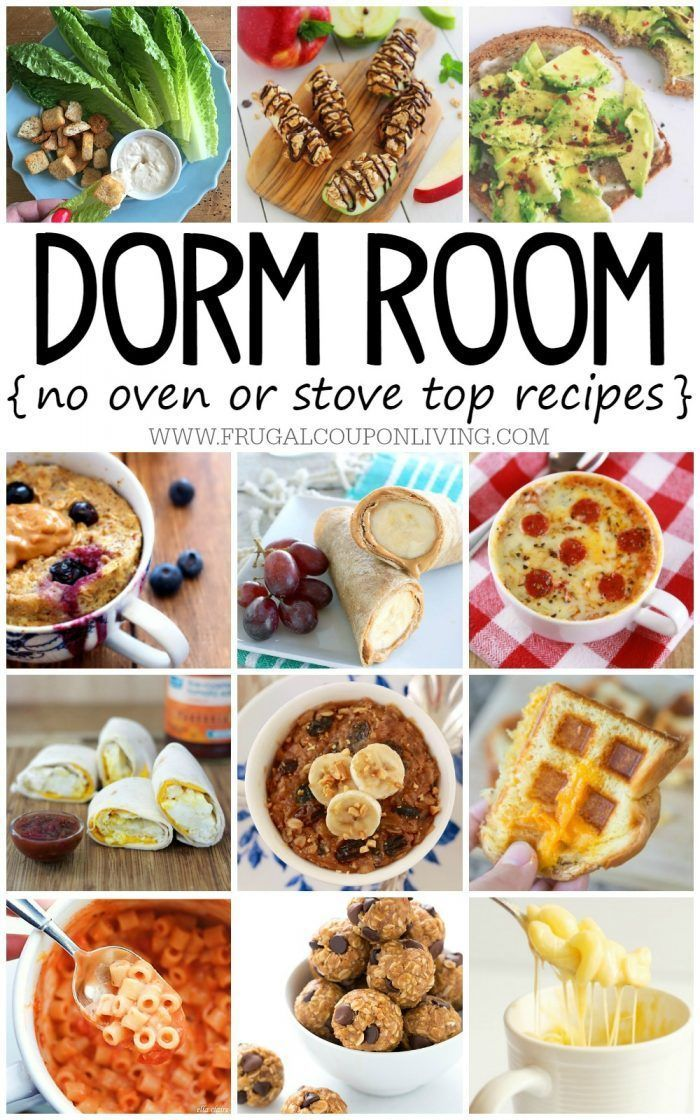 College recipes can be difficult, especially when you are in a dorm. These No Ba...