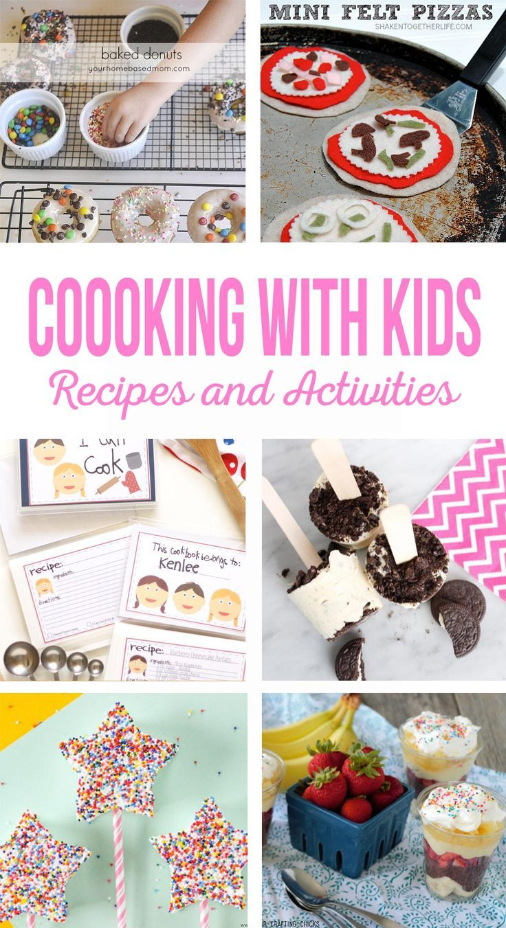 Cooking with Kids | Let your kids help in the kitchen with these easy recipes an...