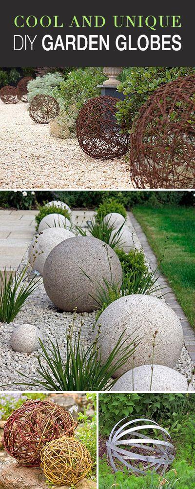 Cool and Unique DIY Garden Globes • Lots of great ideas & tutorials! • Explo...