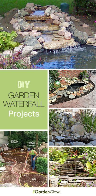Diy Crafts Diy Garden Waterfalls Ideas Tutorials Diyall Net