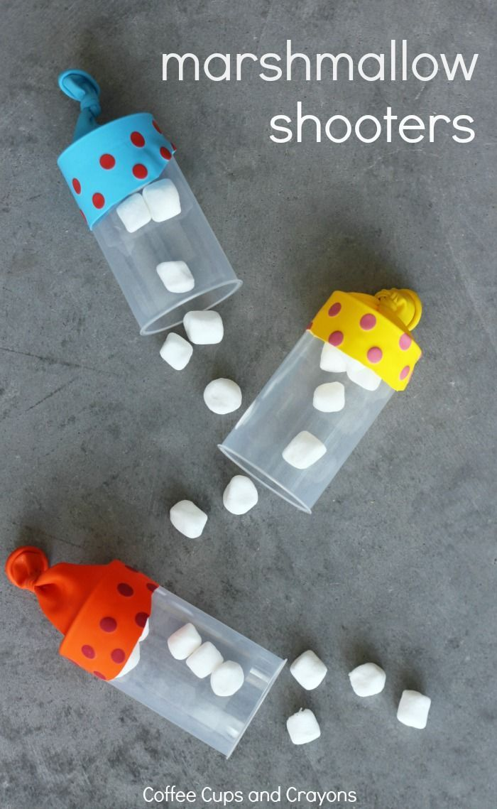 Diy Crafts Diy Marshmallow Shooters Such A Fun Craft For Kids To