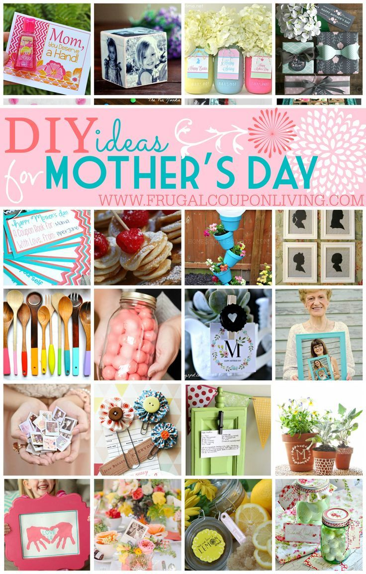 Diy Mothers Day Ideas Round Up Of Handmade Gift