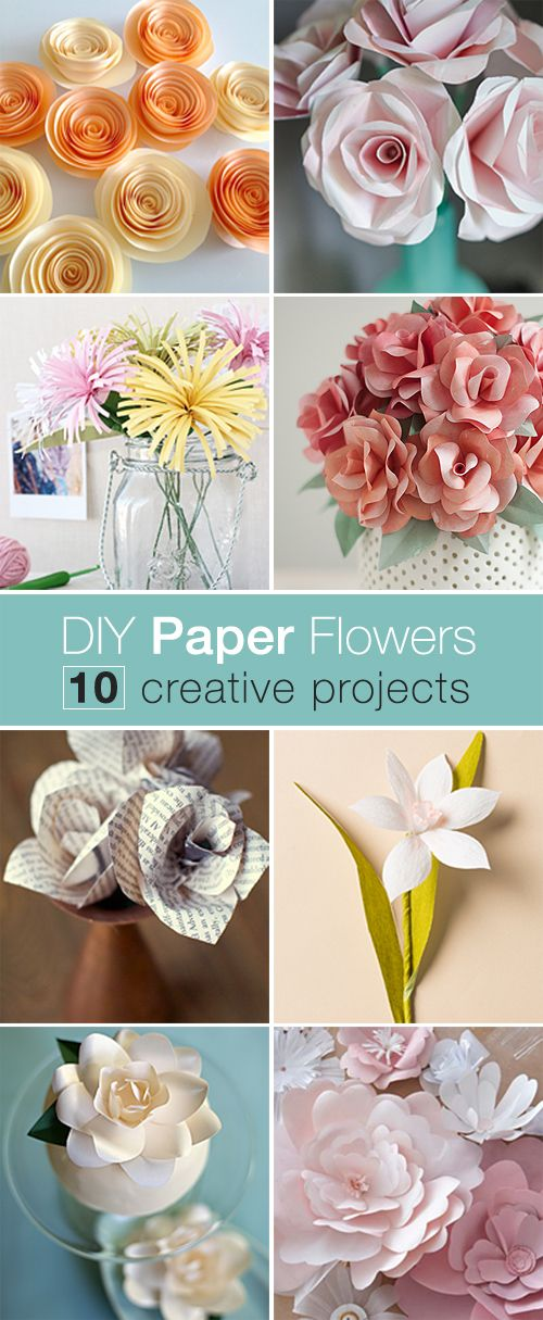 DIY Paper Flowers O How To Make These Easy And Elegant Flower Projects