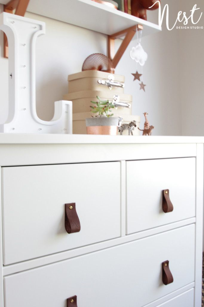 DIY leather handles make both used and budget furniture feel brand new. +30% YoY...