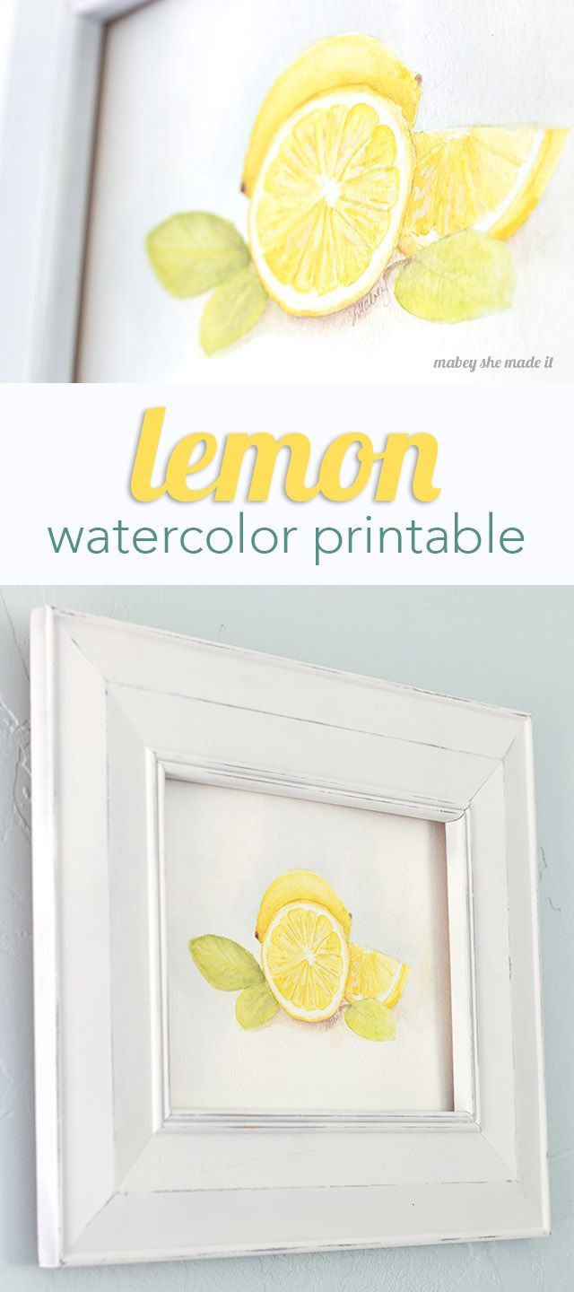 Download this free watercolor printable art on Capturing-Joy.com!  Perfect pop o...